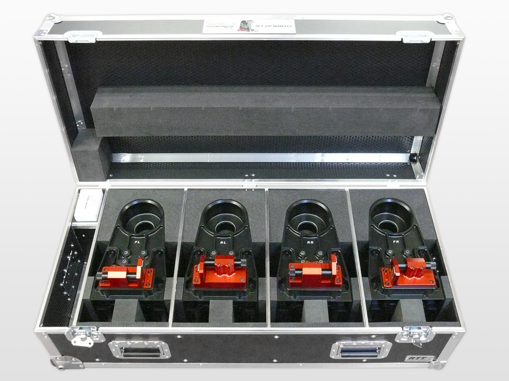 Flightcase Set Up Wheels Psg Racing Parts